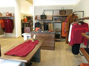 Jaeger womenswear on display as part of the new refit
